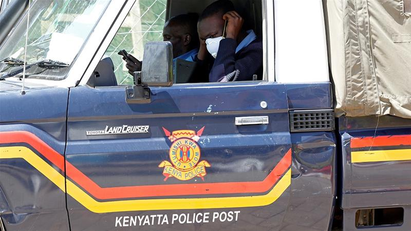 Kenyan authorities attack a facility selling suspected fake COVID-19 test kits